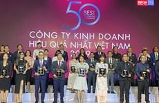 PV GAS entre las 50 empresas más efectivas de Vietnam en 2019