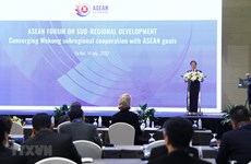 Efectúan el Foro de la ASEAN sobre desarrollo subregional