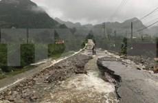 Desastres naturales provocan grandes pérdidas para la región montañosa del norte de Vietnam