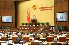 Parlamento de Vietnam emite resolución del noveno periodo de sesiones