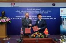 Reino Unido apoya programa de mejora de salud de Vietnam