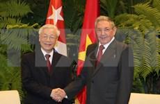 Relaciones Vietnam- Cuba se desarrollan en todos los sectores