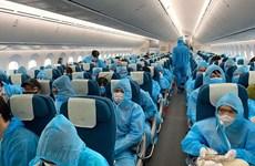 Repatriados 280 vietnamitas en Rusia y Belarús