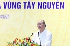 Premier de Vietnam exige impulsar desembolso de capital público en el Centro y la Altiplanicie Occidental