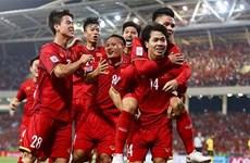 Equipo nacional de fútbol vietnamita con mejor avance en el Sudeste Asiático, según FIFA