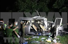 Ocho muertos y siete heridos en accidente de tránsito en provincia vietnamita de Binh Thuan
