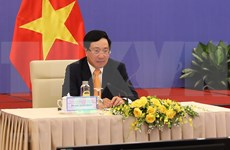 Efectúan reunión virtual del Comité Directivo de Cooperación Bilateral Vietnam-China
