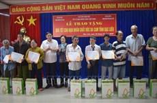 Apoyan a las víctimas del Agente Naranja en provincia vietnamita de Bac Lieu