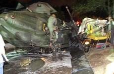 Dos muertos en accidente de helicóptero militar en  Filipinas