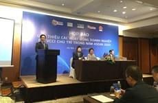 Efectuarán diversas actividades empresariales en Año de ASEAN 2020