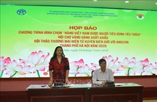Efectuarán feria de productos exportables de Vietnam