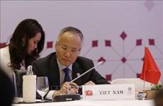Llama Vietnam a fortalecer cooperación en recuperación de economía regional post-COVID-19