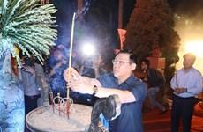 Autoridades de Hanoi rinden homenaje a héroes y mártires