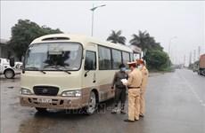 Vietnam fortalece las medidas preventivas contra el COVID-19 en los medios de transporte
