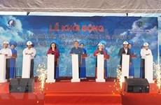 Inician construcción de plantas de energía eólica en Bac Lieu