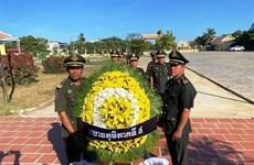 Autoridades de Vietnam y Camboya rinden homenaje a héroes y mártires