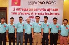 Gana Vietnam medalla oro en Olimpiada Europea de Física 2020