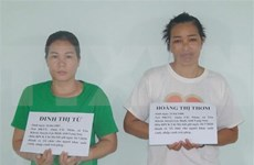 Detienen a dos sujetos involucrados en red de transporte de inmigrantes ilegales a Vietnam