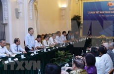 Efectúan coloquio sobre 25 años de incorporación de Vietnam a ASEAN