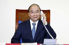 Premier vietnamita mantiene conversaciones telefónicas con presidenta de la CE