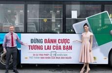 Miss vietnamitas responden al Día Nacional contra la Trata de Personas