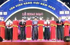 """Inauguran Exposición """"Honrar productos vietnamitas en 2020"""""""