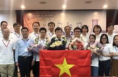Vietnam ocupa segundo lugar en Olimpiada Internacional de Química