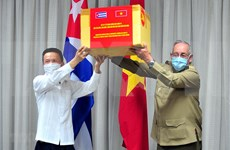 Enaltecen Vietnam y Cuba colaboración en combate al COVID-19
