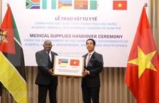 Apoya Vietnam a países africanos en lucha contra COVID -19