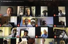 Vietnamitas en Ucrania siguen unidos en lucha contra COVID-19