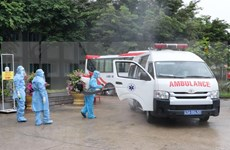 Listo el primer hospital de campaña en Da Nang