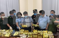 Desmantelan en Vietnam red transnacional de tráfico de drogas