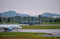 Aerolíneas vietnamitas ajustan horario de vuelos por tormenta Sinlaku