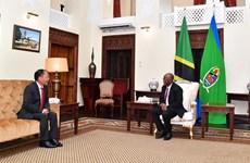 Presidente de Tanzania aboga por aumentar la presencia de empresas vietnamitas en su país