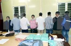 Vietnam: Desmantelan una red de narcotráfico transfronteriza