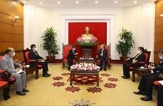 Vietnam aspira a mejorar la asociación estratégica integral con la India