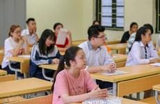 Completa Vietnam preparativos para examen de graduación de bachillerato