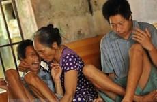 Benefician con subsidio estatal a víctimas de dioxina en la provincia vietnamita de Tien Giang