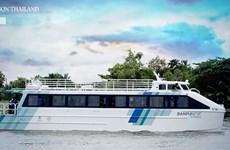 Tailandia presenta ferry eléctrico, en aras de proteger medio ambiente