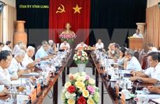 Provincia vietnamita de Vinh Long por perfeccionar liderazgo del Comité partidista