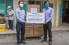VUFO entrega 500 kits de prueba para detección de COVID-19 en Da Nang