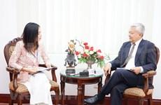 Aprecia embajador papel de Vietnam como presidente de ASEAN