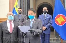 Conmemoran los 53 años de fundación de la ASEAN en Venezuela