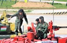 Listos soldados vietnamitas para Juegos Internacionales Militares 2020
