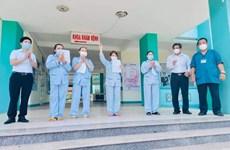 Más pacientes del COVID- 19 reciben el alta en Vietnam