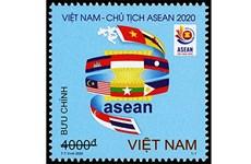 """Emiten juego de timbres """"Vietnam da la bienvenida al Año ASEAN 2020"""""""