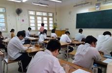 Examen de bachillerato en Vietnam cumple objetivos seguros y justos