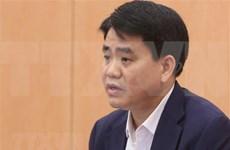 Suspenden del cargo al presidente del Comité Popular de Hanoi