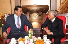 Enaltecen aportes del exmáximo dirigente partidista de Vietnam Le Kha Phieu a revolución camboyana