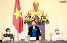 Clausuran 47 reunión del Comité Permanente de Asamblea Nacional de Vietnam